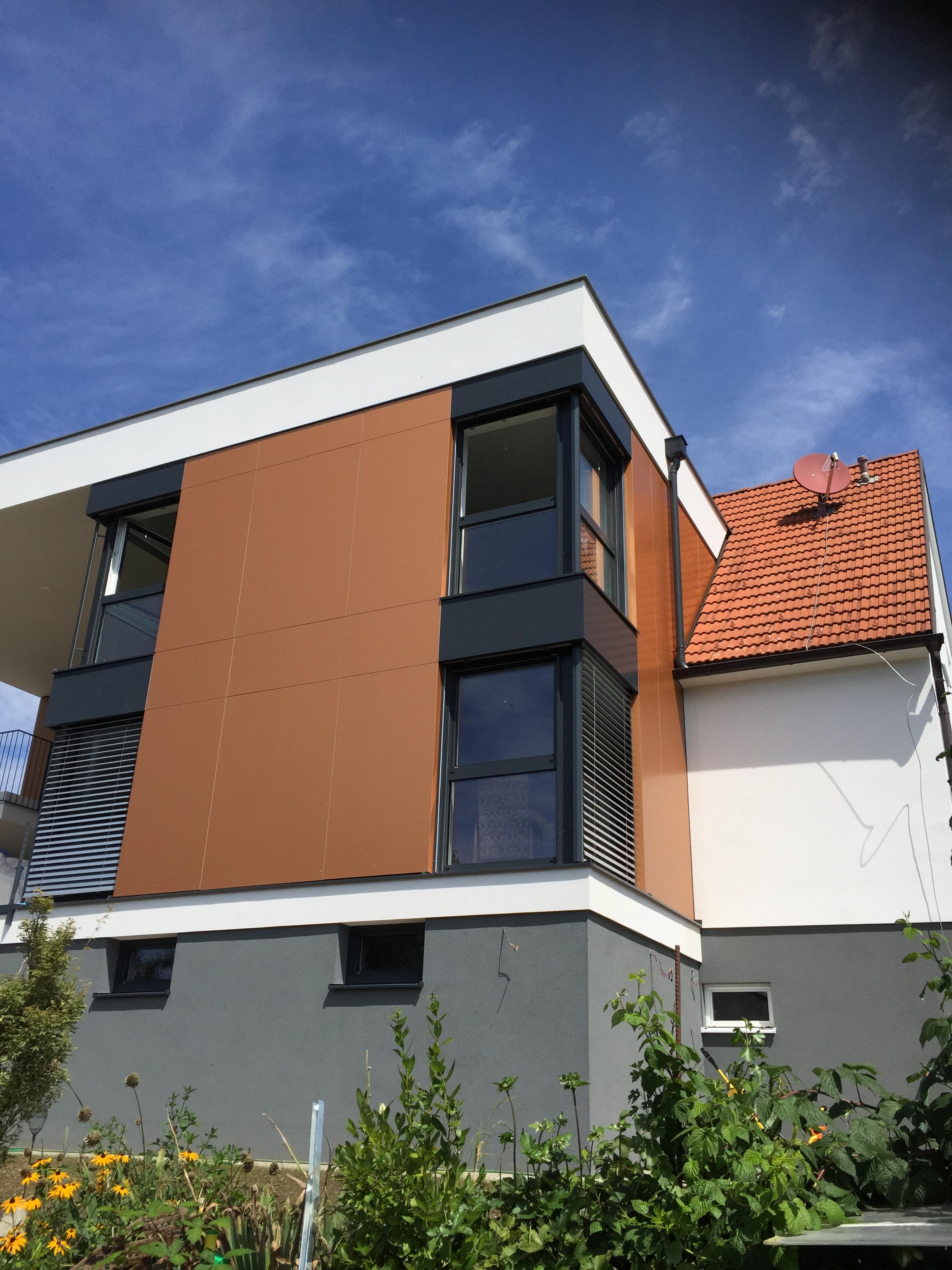 Einfamilienhaus Mit Fassade Zidek